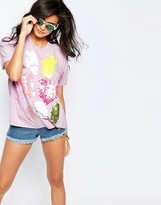 Asos T-Shirt With Scatter Sequins