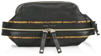 Proenza Schouler Leather & Snakeskin Belt Bag