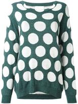 Christian Wijnants 'Knack' jumper - women - Cotton/Polyamide/Wool - XS