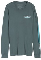 Rip Curl Men's The Pump Long Sleeve Logo Graphic T-Shirt