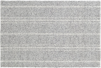 Dash & Albert Melange Stripe Indoor/Outdoor Rug - Gray/Ivory 5'x8'