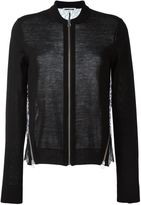 McQ by Alexander McQueen lace panel cardigan