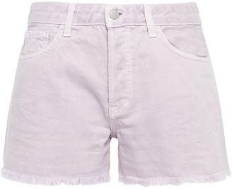 J Brand Gracie Distressed Denim Shorts