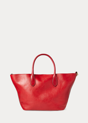 Ralph Lauren Leather Medium Bellport Tote