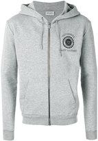 Saint Laurent zip up hoodie - men - Cotton/Polyamide - S