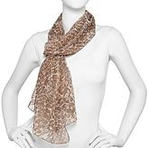 JCPenney Shadowed Snakeskin Scarf