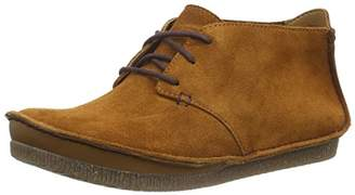 Clarks Women's Janey Lynn Ankle Boots, Brown (Tan Suede)
