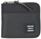 Herschel Men's Walt Rfid Zip Wallet - Black