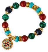 Jose & Maria Barrera Bead-Stretch Bracelet w/ Drop