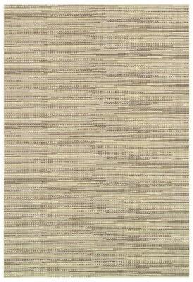"Beachcrest Home Kayden Striped Sand Area Rug Rug Size: Rectangle 2' x 3'7"""