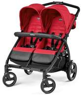 Peg Perego Book for Two Double Stroller in Mod Red