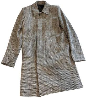 Sandro Fall Winter 2019 Grey Tweed Coats
