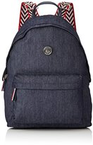 Tommy Hilfiger Poppy Backpack Denim, Women's Backpack, Blau (Denim), 13 x 40 30 cm (wxhxd)