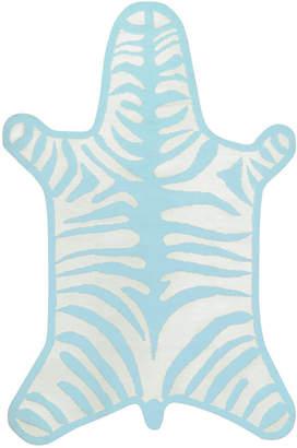 Jonathan Adler Zebra Peruvian Flat Weave Rug