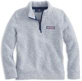 Vineyard Vines Boys' Quarter Zip Fleece Shep Shirt - Sizes S-XL