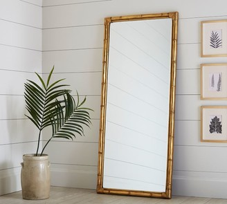 Pottery Barn Bamboo Floor Mirror