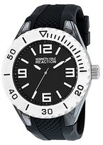 Kenneth Cole Reaction Unisex RK1342 Street Collection Analog Display Japanese Quartz Black Watch