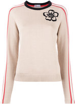 RED Valentino flower embroidered jumper