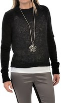 Woolrich White Label Mountain Crew Sweater (For Women)