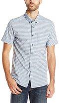 Volcom Men's Melvin Stripe Woven Shirt