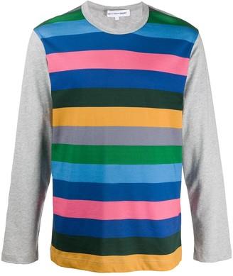 Comme des Garcons stripe print T-shirt