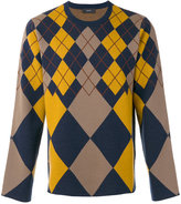 Joseph Ls-Argyle knit jumper - men - Wool - S