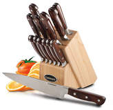 Cuisinart 14 Piece Pakkawood Knife Block Set
