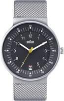 Braun Men's BN0082GYSLMHG Classic Stainless Steel Watch with Mesh Bracelet