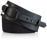 Lauren Ralph Lauren Braided Loop Wide Stretch Belt