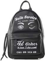Chiara Ferragni Suite Service Faux-leather Small Backpack