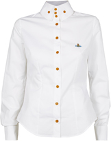 Vivienne Westwood New Krall Shirt White Size 38