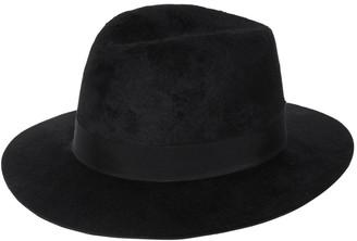 Saint Laurent Fedora Hat Feltro Rabbit W/Grosgrain