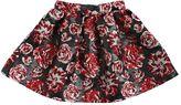 Lanvin Petite Cotton & Lurex Brocade Round Skirt