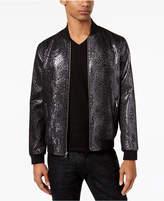 INC International Concepts Men's Textured Metallic Bomber, Created for Macy's