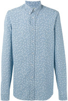 Kenzo printed button-down shirt - men - Cotton - 39