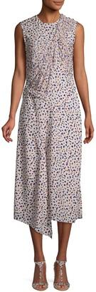 Jason Wu Collection Floral-Print Sleeveless Shift Dress
