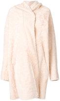 Sylvie Schimmel sheep skin cape coat - women - Sheep Skin/Shearling - 34