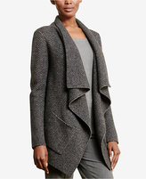 Lauren Ralph Lauren Petite Wool Herringbone Cardigan