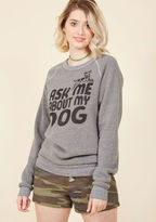 Kin Ship Fur Our Conversation Sweatshirt in M