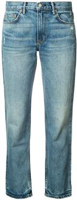 GRLFRND Jane high-rise straight denim jeans