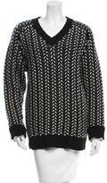 Thakoon Merino Wool V-Neck Sweater w/ Tags