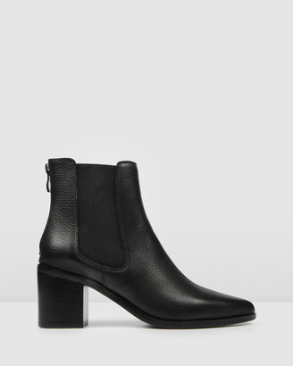 Jo Mercer - Women's Black Short Boots - Allure Mid Heel Boots - Size One Size, 36 at The Iconic
