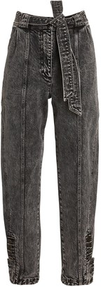 Ulla Johnson Carmen Belted Tapered Jeans