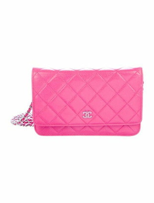 Chanel Classic Wallet on Chain silver