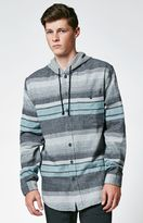 Billabong Horizon Hooded Long Sleeve Button Up Shirt