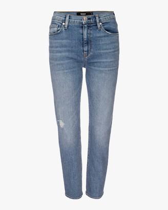 Hudson Barbara High-Waist Cropped Straight Jeans