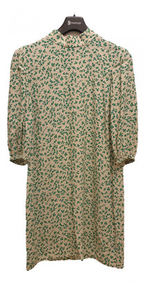 Ganni Spring Summer 2020 Green Viscose Dresses