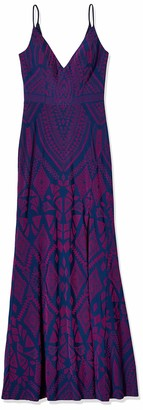 Jump Junior's Tribal Pattern Sleeveless Gown