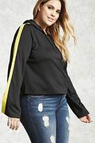 Forever 21 Plus Size Colorblock Hoodie