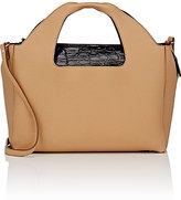 The Row Women's Two For One 12 Shoulder Bag & Pouch-TAN